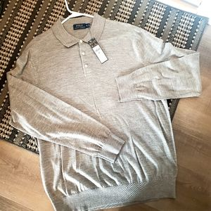 NWT Ralph Lauren Polo Gray size XL